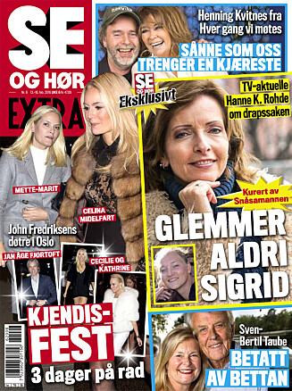 LES MER: I nyeste nummer av Se og Hør Extra kan du lese mer om Jenny Skavlan. Foto: Se og Hør