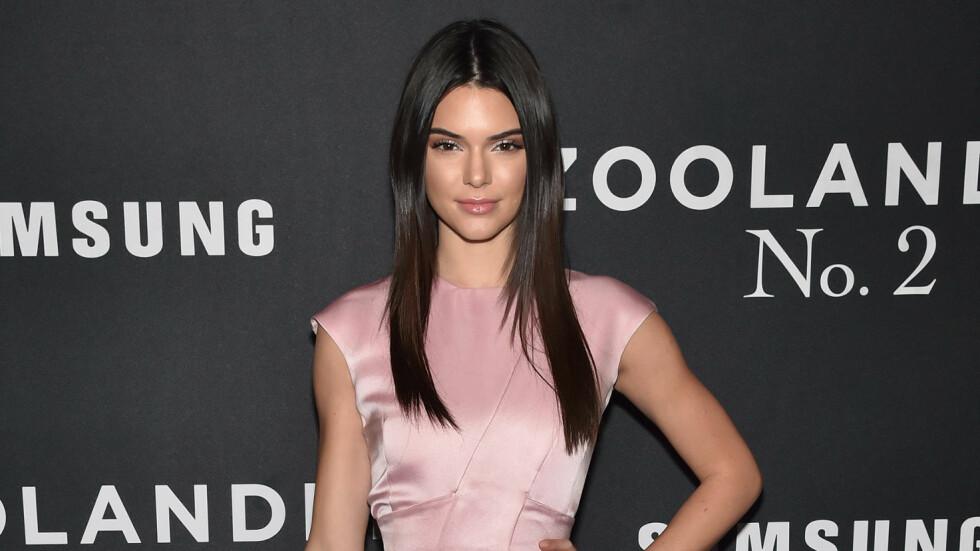 GÅR RETTENS VEI: Kendall Jenner saksøker hudpleiefirma for 89 millioner kroner.  Foto: Rex Features