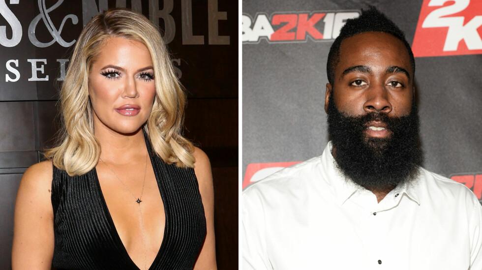 SLUTT: Flere kilder hevder at det ble slutt mellom Khloé Kardashian og James Harden for flere uker siden.  Foto: NTB scanpix