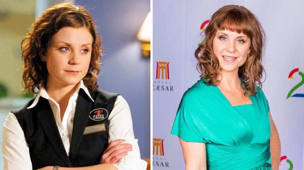 FEIRET: Ingrid Nordby var på plass da TV2 feiret 3000 innspilte episoder av «Hotel Cæsar».  Foto: TV2 / Se og Hør