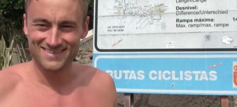 Petter Northug klarte ikke å dy seg på Gran Canaria