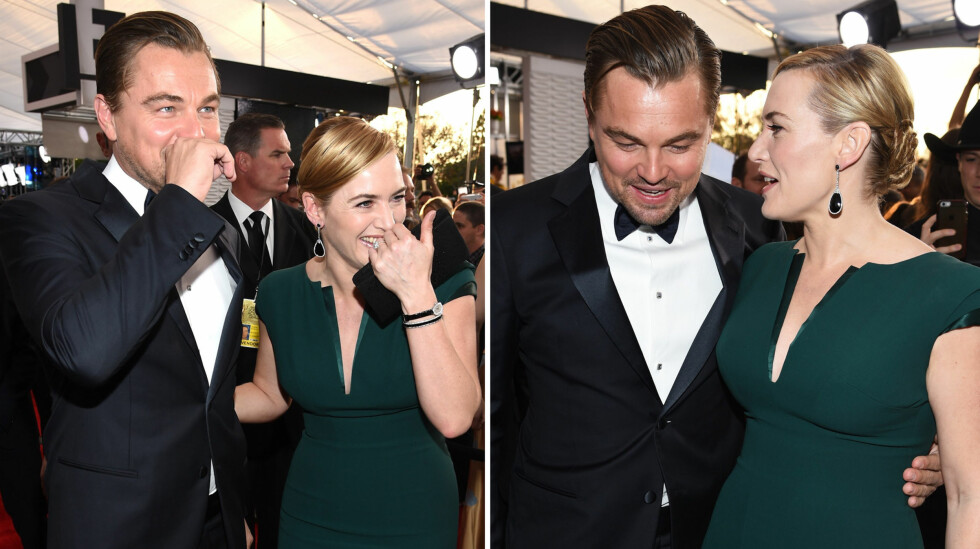 Leonardo og Kate ble gjenforent 18 år etter «Titanic»