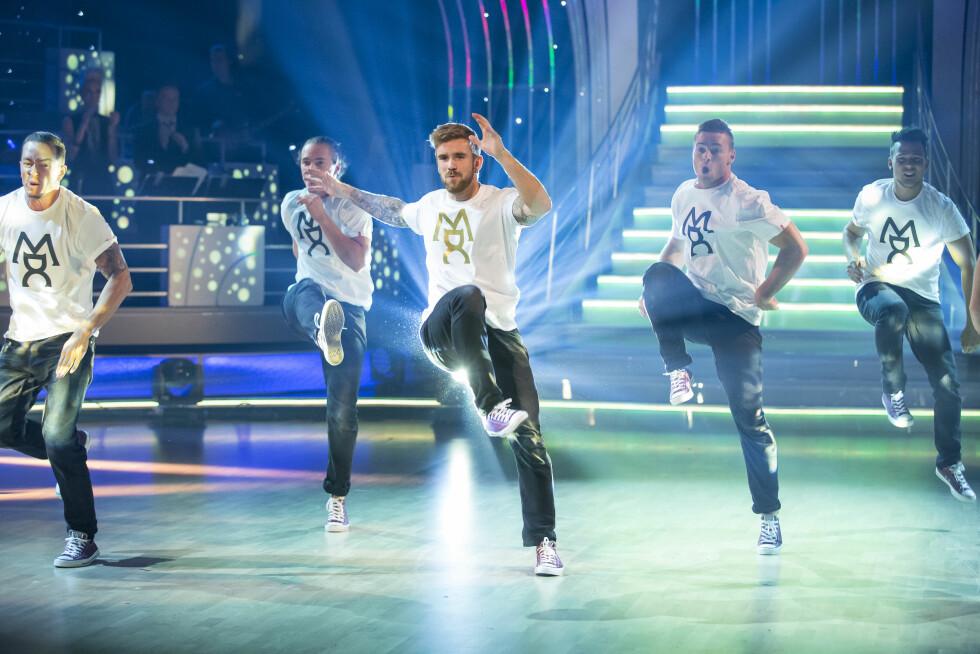 """TALENTFULL: Stian Blipp er en mann med flere talenter. Her danset han under """"Skal vi danse"""" på TV2.  Foto: Tor Lindseth"""