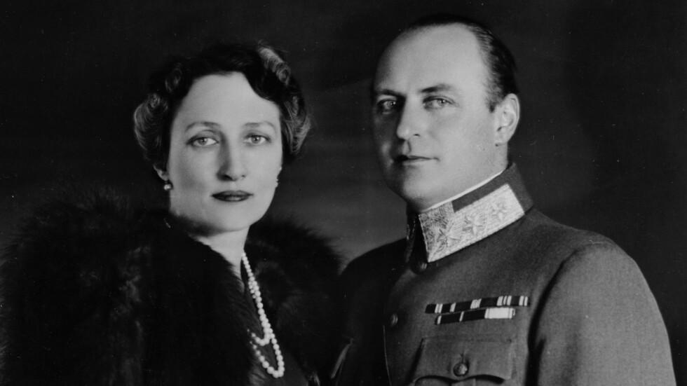FOLKEKJÆRE: Kronprinsesse Märtha og kronprins Olav fotografert i USA antakelig i 1940, skriver NTB Scanpix. Foto: NTB Scanpix