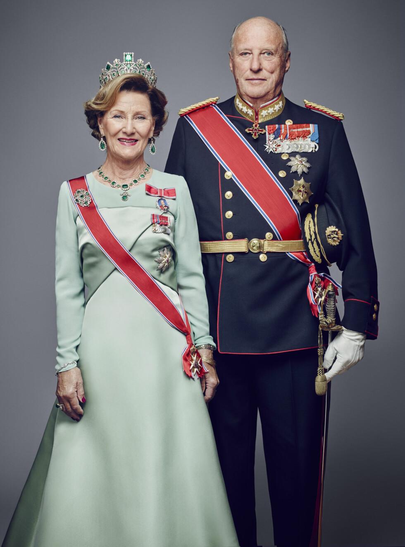 25 ÅR: Dronning Sonja og kong Harald. Foto: NTB scanpix