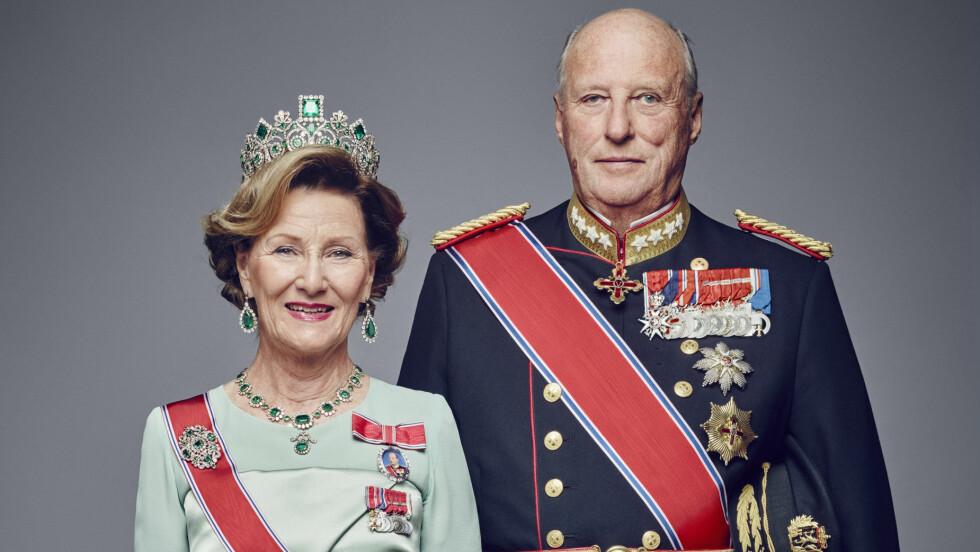25 ÅR: 17. januar feirer dronning Sonja og kong Harald 25 år på tronen.  Foto: NTB scanpix