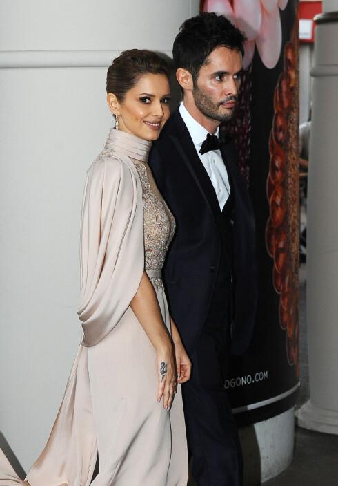 GÅR HVER TIL SITT: Cheryl Fernandez-Versini og Jean Bernard giftet seg sommeren i 2014, men går inn i det nye året med kommende skilsmisse.  Foto: NTB scanpix