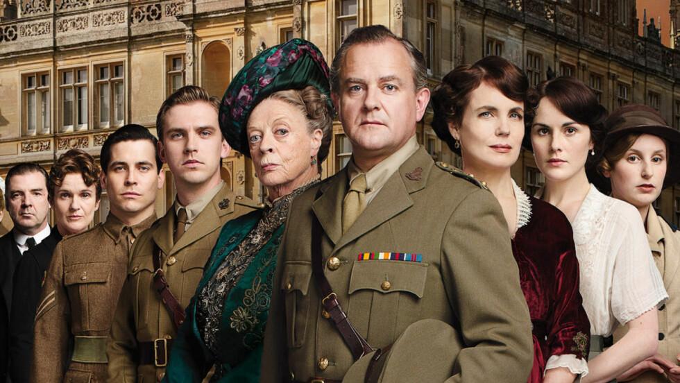 POPULÆR SERIE:« Downton Abbey» har i seks sesonger vært en av verdens mest sette TV-serier Foto: NRK