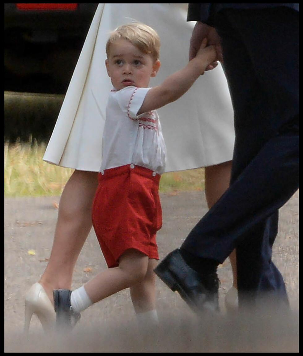STOREBROR: Prins George gleder seg over å ha fått en ny søster. Foto: Polaris