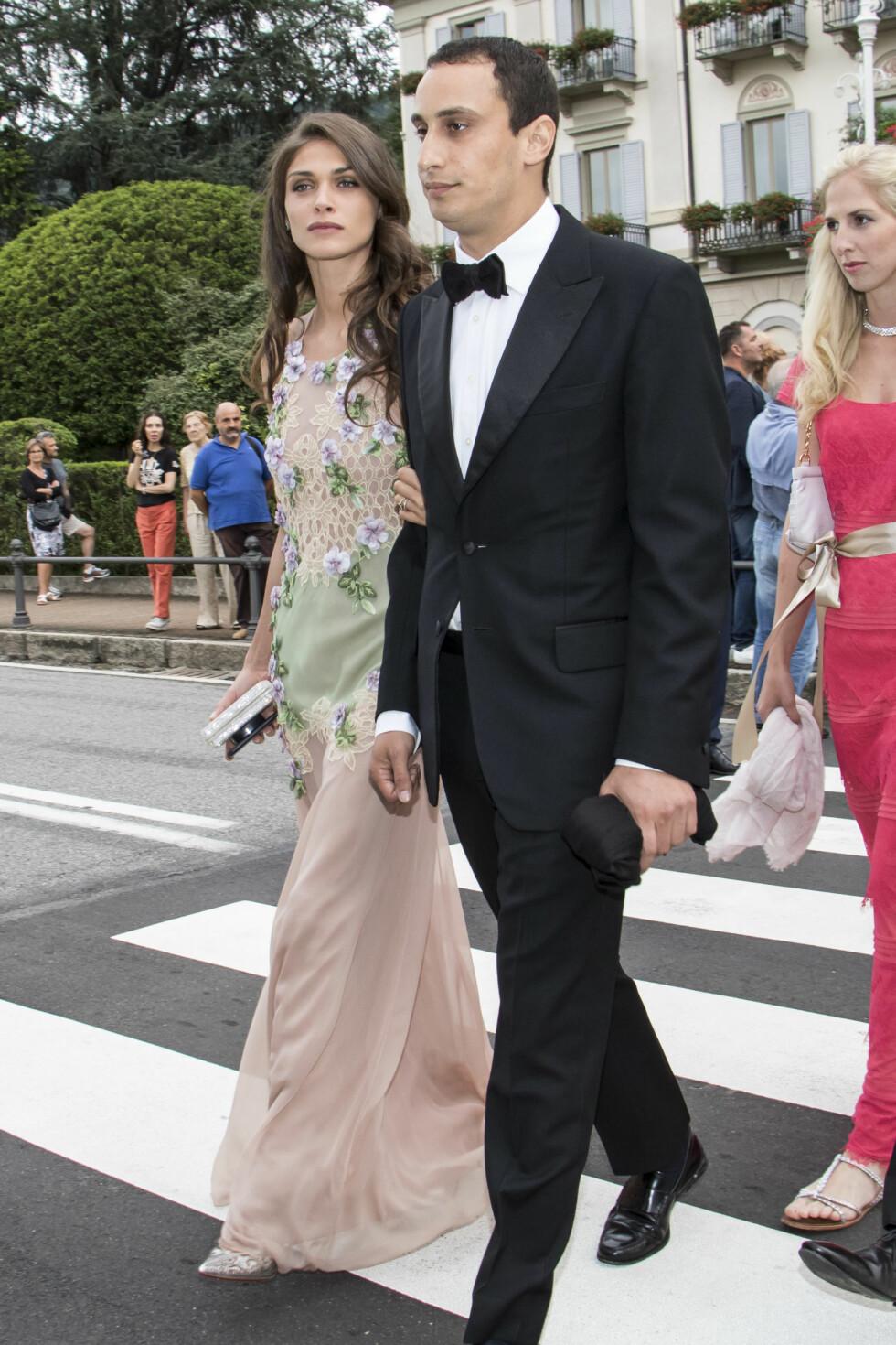 Elisa Sednaoui og Alexander Dellal  Foto: Abaca