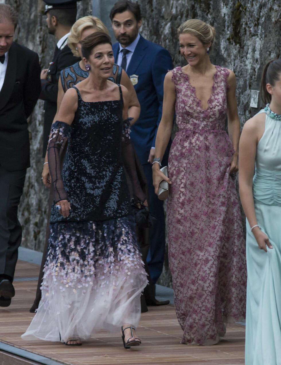 Paola Marzotto og Prinsesse Caroline av Hannover  Foto: Abaca