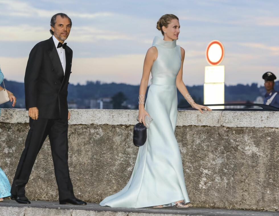 Ugo Brachetti Peretti og Isabella Borromeo Foto: Abaca