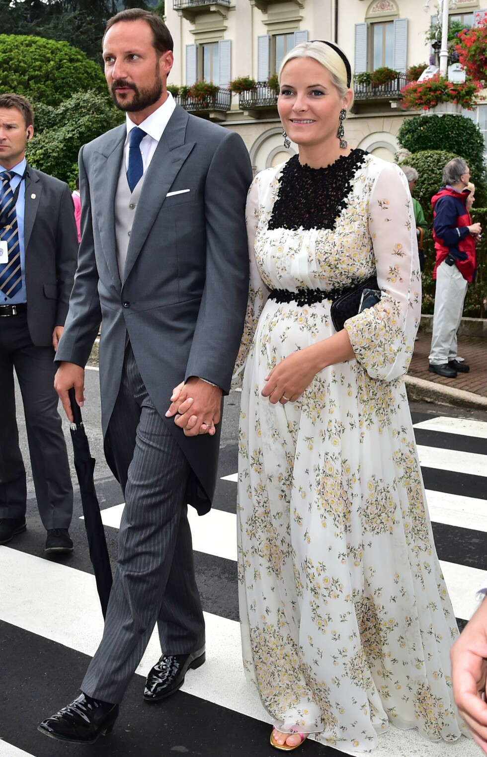 Haakon Magnus og Mette-Marit Foto: Afp