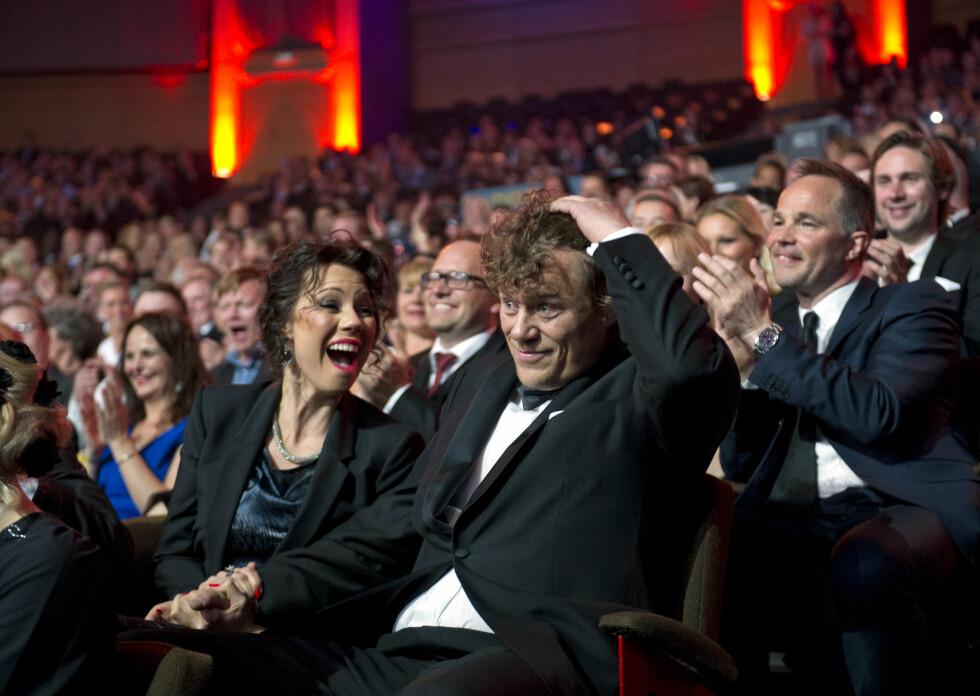 HEMMELIG GIFT: Lars Monsen avslørte på Facebook at han og Trine Rein hadde giftet seg.  Foto: NTB scanpix