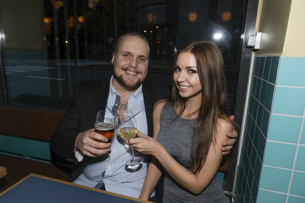 FORLOVET: Stian Thorbjørnsen og Tina Svestad planglegger bryllup.
