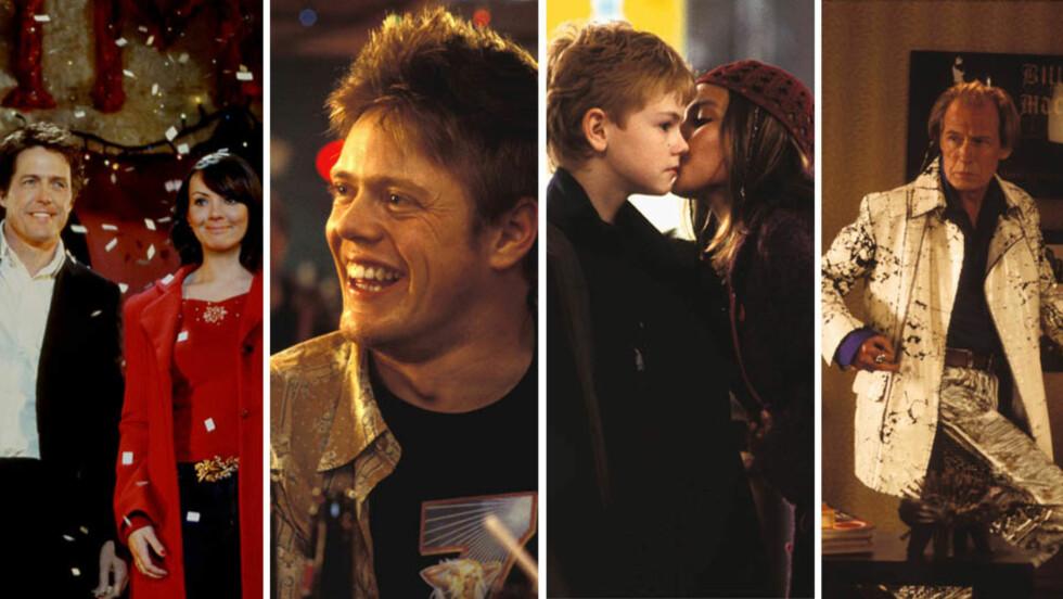 FORANDRET: Hugh Grant er for mange en velkjent skuespiller også i dag, men mange av de mindre kjente skuespillerne i «Love Actually» har forandret seg mye siden filmen ble spilt inn i 2003.  Foto: NTB Scanpix