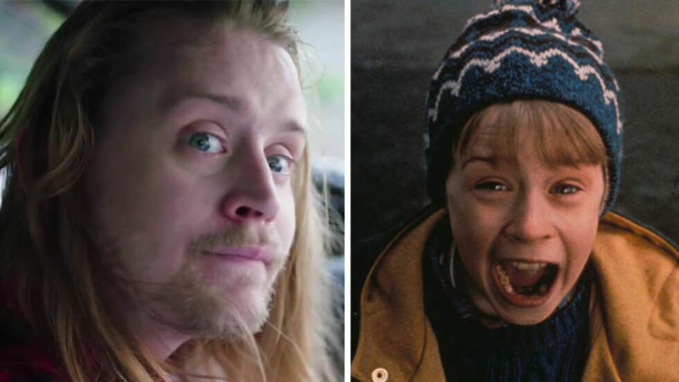 <strong>TILBAKE:</strong> Macaulay Culkin gjør comeback som «Hjemme alenes» Kevin McCallister i en ny webserie «Dryvrs».  Foto: Screen Grab/NTB Scanpix