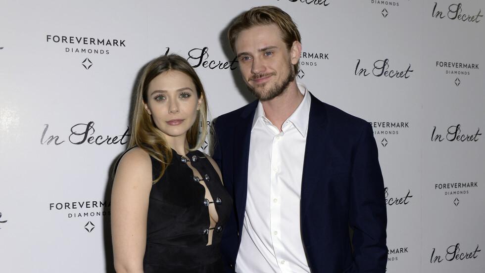 KNUST: Skuespiller Boyd Holbrook avslører at han satt igjen med sterke reaksjoner etter eksforloveden Elizabeth Olsen dumpet ham.  Foto: NTB scanpix