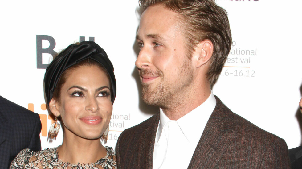 """FORELSKET: Ryan Gosling og Eva Mendes har vært kjærester siden 2011. De møttes på settet til dramaet """"The Place Beyond the Pines"""" og forelsket seg."""