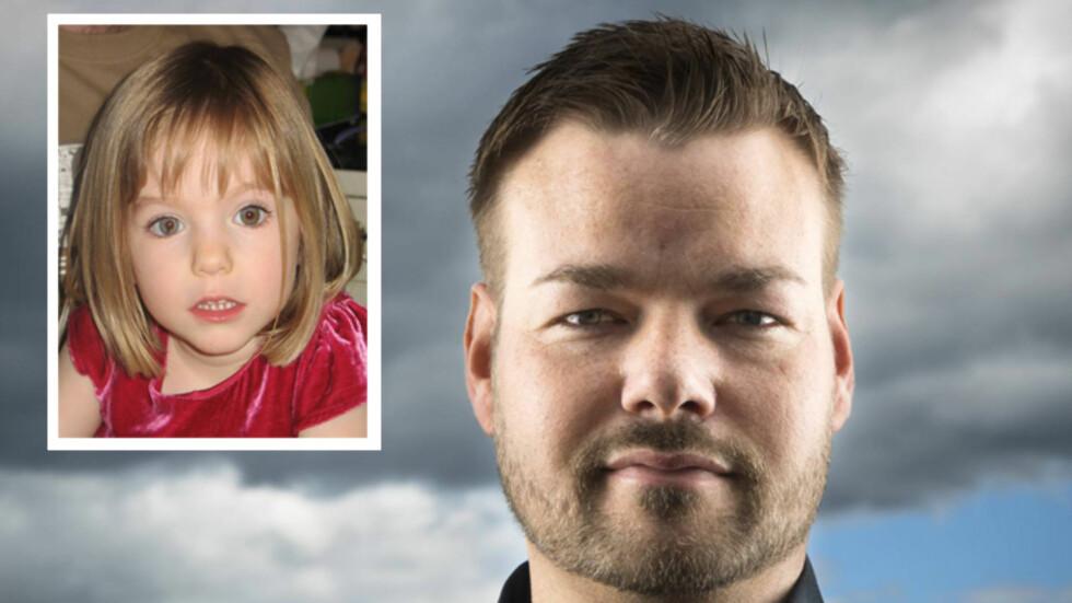 UNIKE EVNER: Klarsynte Michael Winger fra Eidsvoll har brukt mye tid på den åtte år gamle forsvinningsgåten. Foto: Se og Hør/NTBscanpix