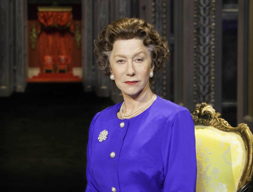 VELKJENT ROLLE: Ni år senere spilte Helen dronningen igjen. Denne gangen på den ærverdige scenen på Broadway. Bildet er tatt i forbindelse med promoteringen for stykket.  Foto: NTB Scanpix