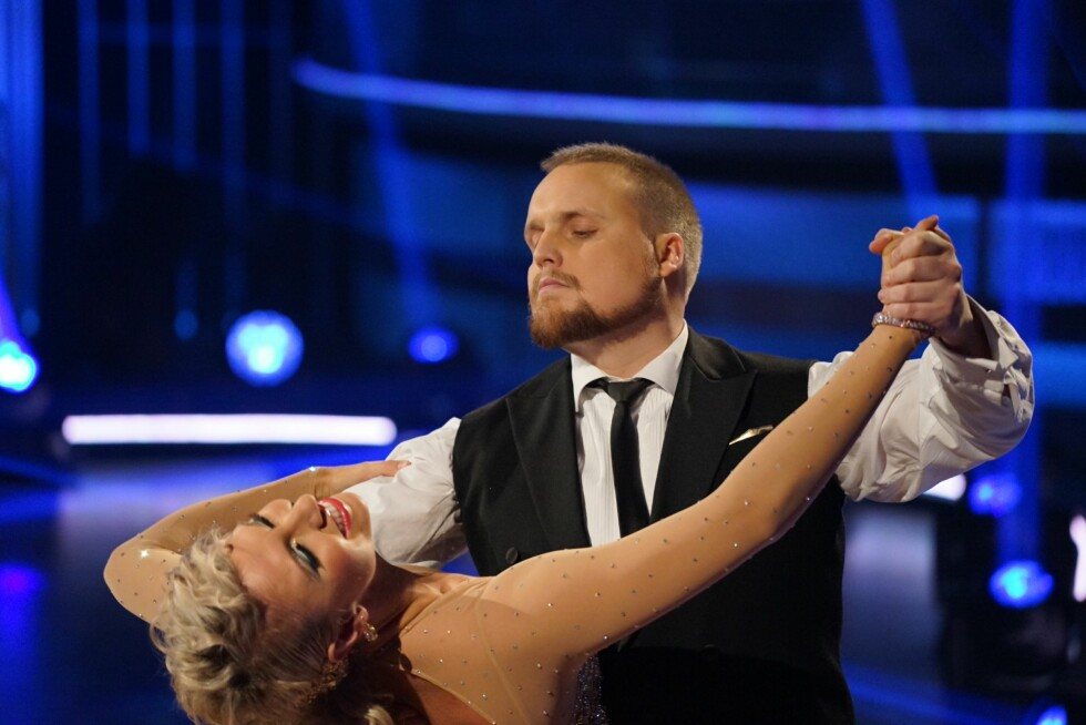 LANG REISE: Stian Thorbjørnsen synes det var en absurd opplevelse å danse i Skal vi danse-finalen.