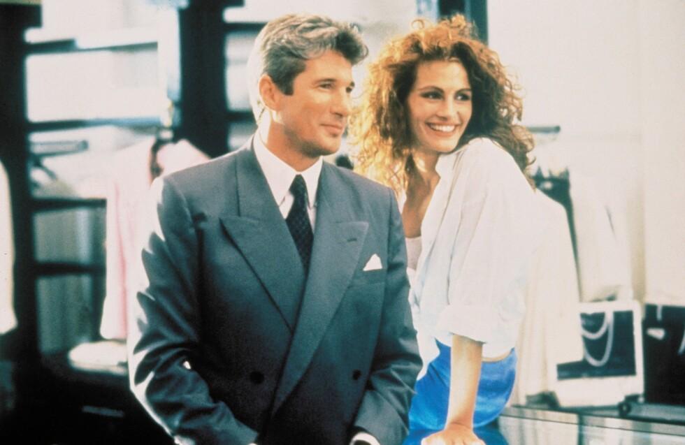 <strong>VELKJENT ROLLE:</strong> Roberts slo for alvor gjennom i &amp;amp;amp;amp;amp;amp;amp;quot;Pretty Woman&amp;amp;amp;amp;amp;amp;amp;quot; fra 1990. Her med Richard Gere. Foto: Scanpix