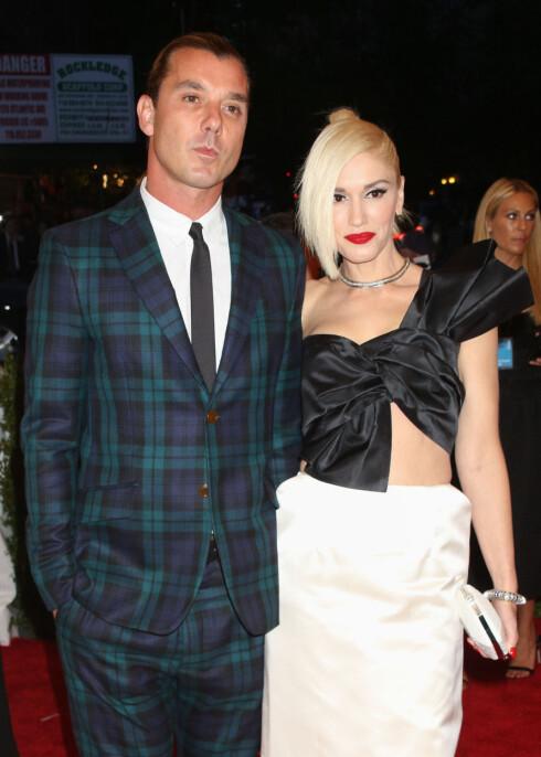 SJOKK: I august kom nyheten om at Gwen Stefani og Gavin Rossdale skulle skilles etter 20 år sammen.  Foto: NTBscanpix