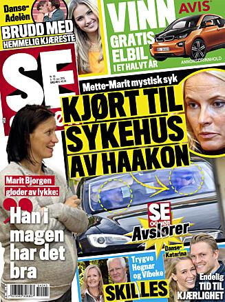 LES MER: I nyeste nummer av Se og Hør kan du lese mer om bruddet mellom Hegnar og samboeren. Foto: Se og Hør