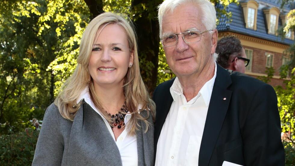 BRUDD: Ifølge Se og Hør har Vibeke Holth og Trygve Hegnar gått fra hverandre etter 10 års samboerskap. Foto: NTB scanpix