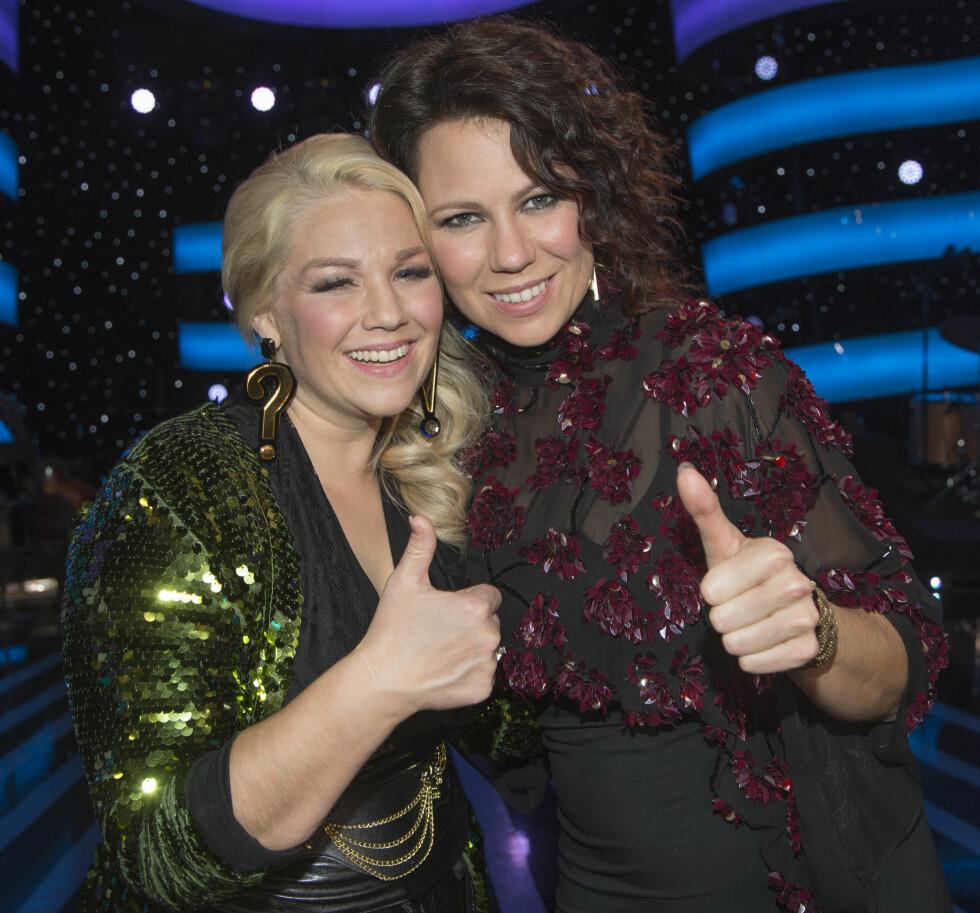 JENTEFINALE: Lørdag kjemper Maria Haukaas Mittet mot Trine Rein om å vinne årets runde med Stjernekamp. Foto: Tore Skaar/Se og Hør