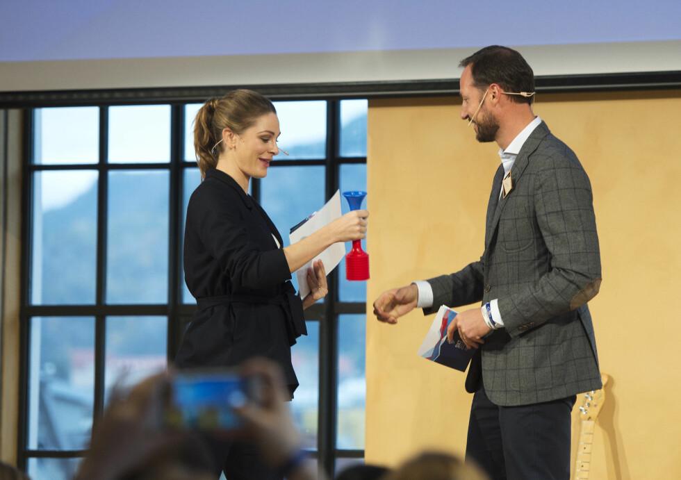 ORDSTYRER: Jenny Skavlan er konfransier på kronprinsens konferanse.  Foto: NTB scanpix