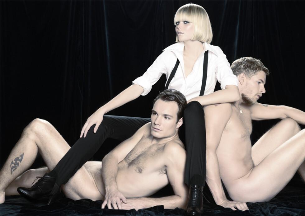 <strong>TOP MODEL:</strong> Slik så Kamilla ut da hun deltok i TV3-serien «Top Model» i 2007. Foto: TV3