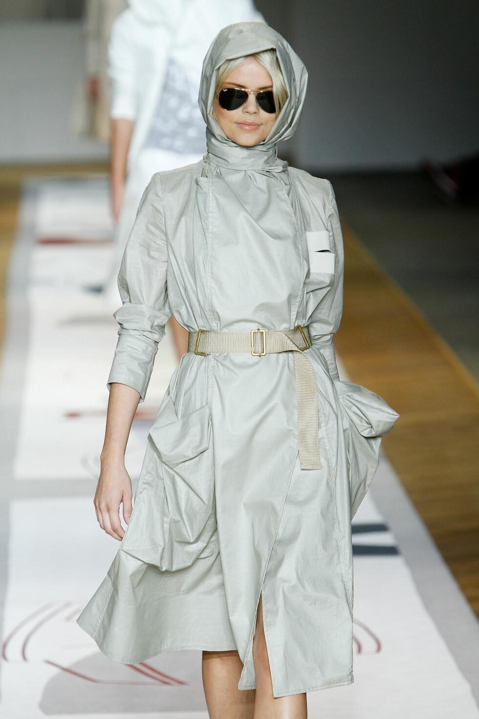 <strong>REISTE VERDEN RUNDT:</strong> Høsten 2010 gikk Kamilla modell under moteuka i New York. Foto: NTB Scanpix