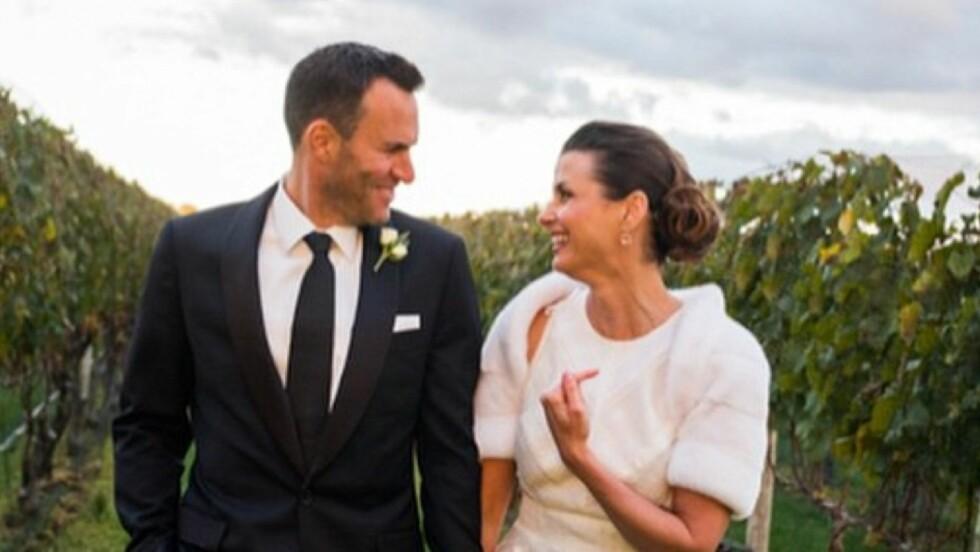 GIFTET SEG: Bridget Moynahan giftet seg med Andrew Frankel, lørdag.  Foto: Instagram