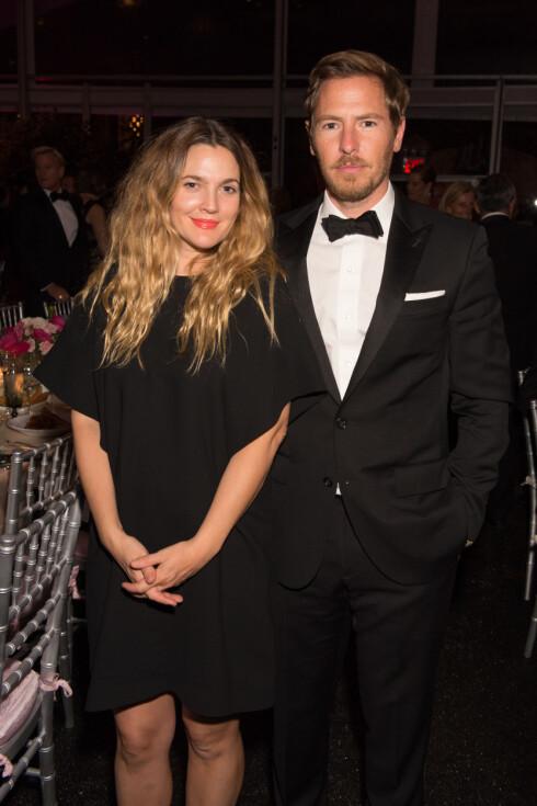 DEN STORE KJÆRLIGHETEN: Drew og Will giftet seg i 2012. Like etter fikk de sitt første barn sammen.  Foto: NTB scanpix