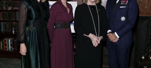 Kronprinsparet feiret Liv Ullmann i New York