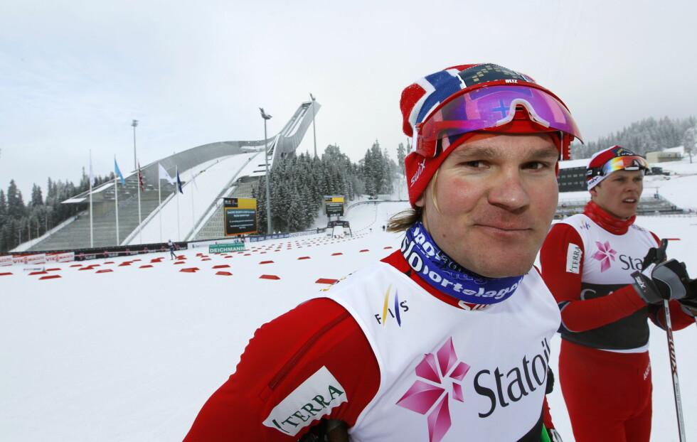 GULLGUTT: Øystein Pettersen har gjort seg bemerket i skisporet, og er en av Norges beste skiløpere. Her fra Holmenkollen i Oslo i 2011. Foto: NTB scanpix