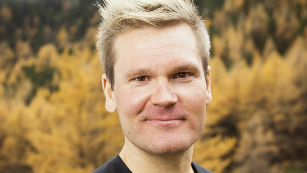 FRISKMELDT: Øystein Pettersen er tilbake hjemme hos familien igjen etter et kort sykehusopphold.