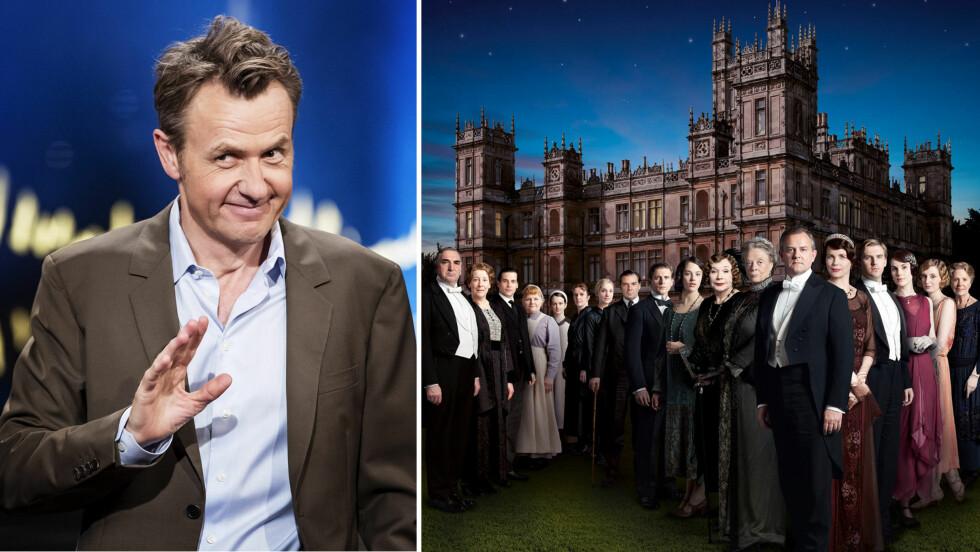 <strong>FAN AV «DOWNTON ABBEY»:</strong> Da talkshow-kongen Fredrik Skavlan gjestet radioprogrammet «P3morgen» nylig, røpet han at det godt kan komme en tåre når «Downton Abbey» er tilbake på TV. Søndag kveld går annen episode av den siste sesongen på NRK1. Foto: NTB Scanpix