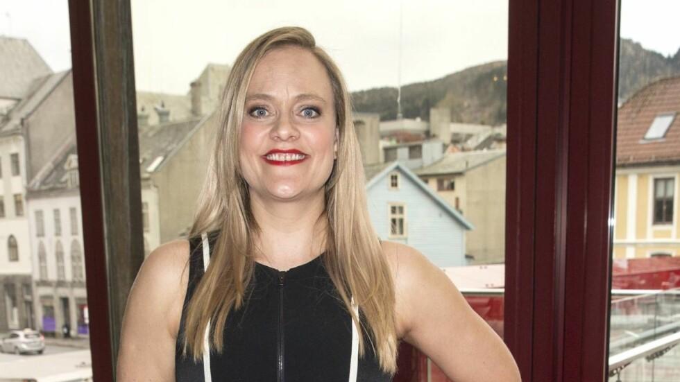 EKKELT: Henriette Steenstrup avslørte av hun en gang var så uheldig at en massør kastet opp på ryggen hennes.  Foto: Se og Hør