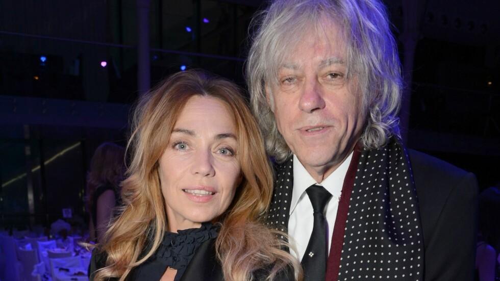 MANN OG KONE: Lørdag giftet Bob Geldof seg med sin kjæreste gjennom 19 år franske Jeanne Marine.  Foto: Rex Features