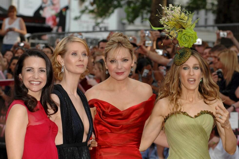 SUPERPOPULÆRE: Kristin Davis, Cynthia Nixon, Kim Catrall og Sarah Jessica Parker har millioner av fans verden over. Foto: EPA