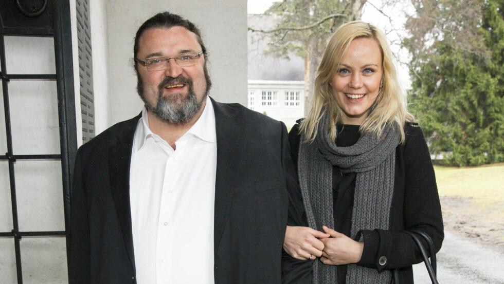 PLEIER FORHOLDET: Hans-Erik Dyvik Husby og Gro Skaustein har flyttet sammen etter skilsmissen i fjor. Foto: Espen Solli, Se og Hør