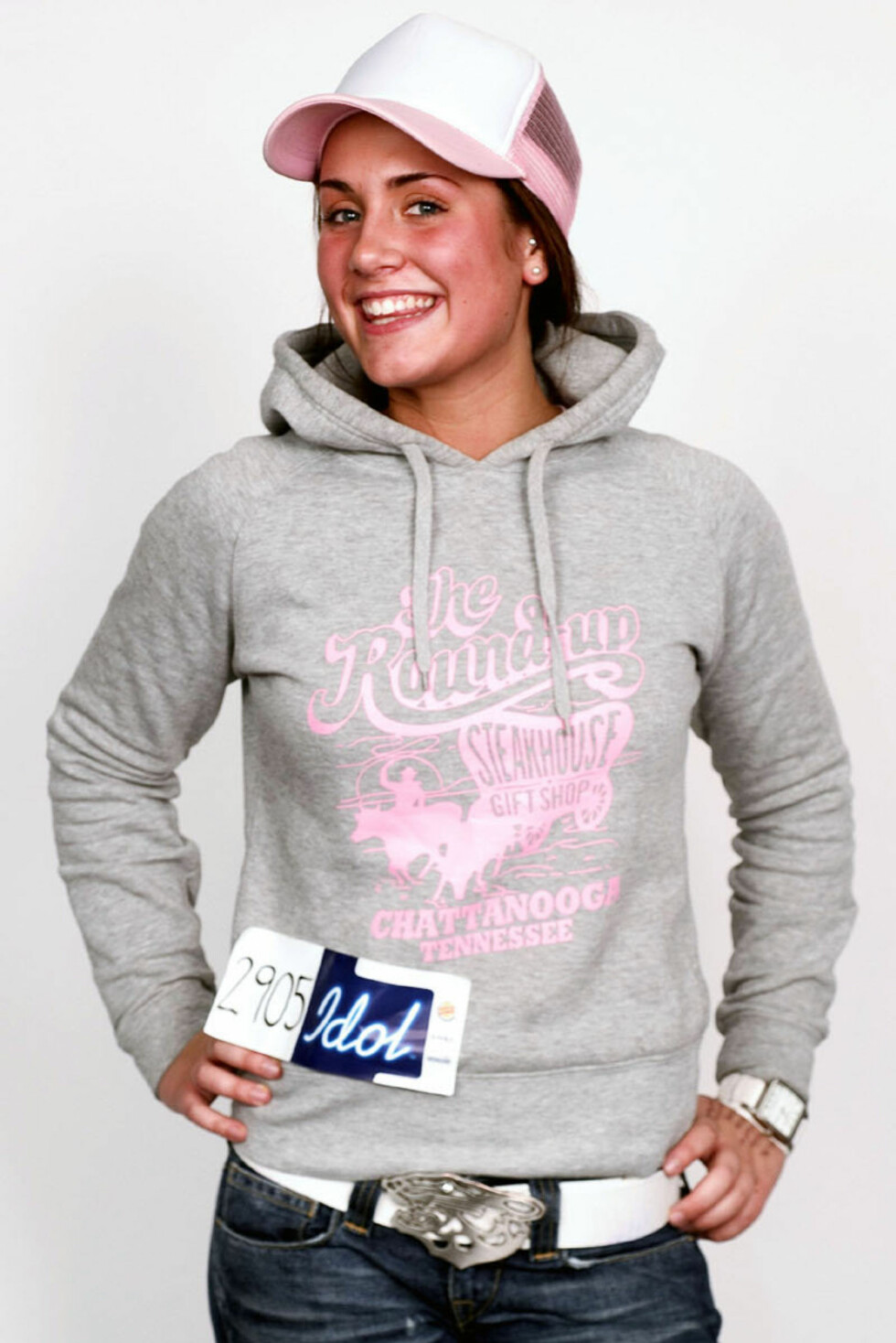 FREMDELES UKJENT: Tone var 17 år da hun spent stilte på audition for Idol i 2005. Lite visste hun den gang at eventyret skulle forandre livet hennes totalt.