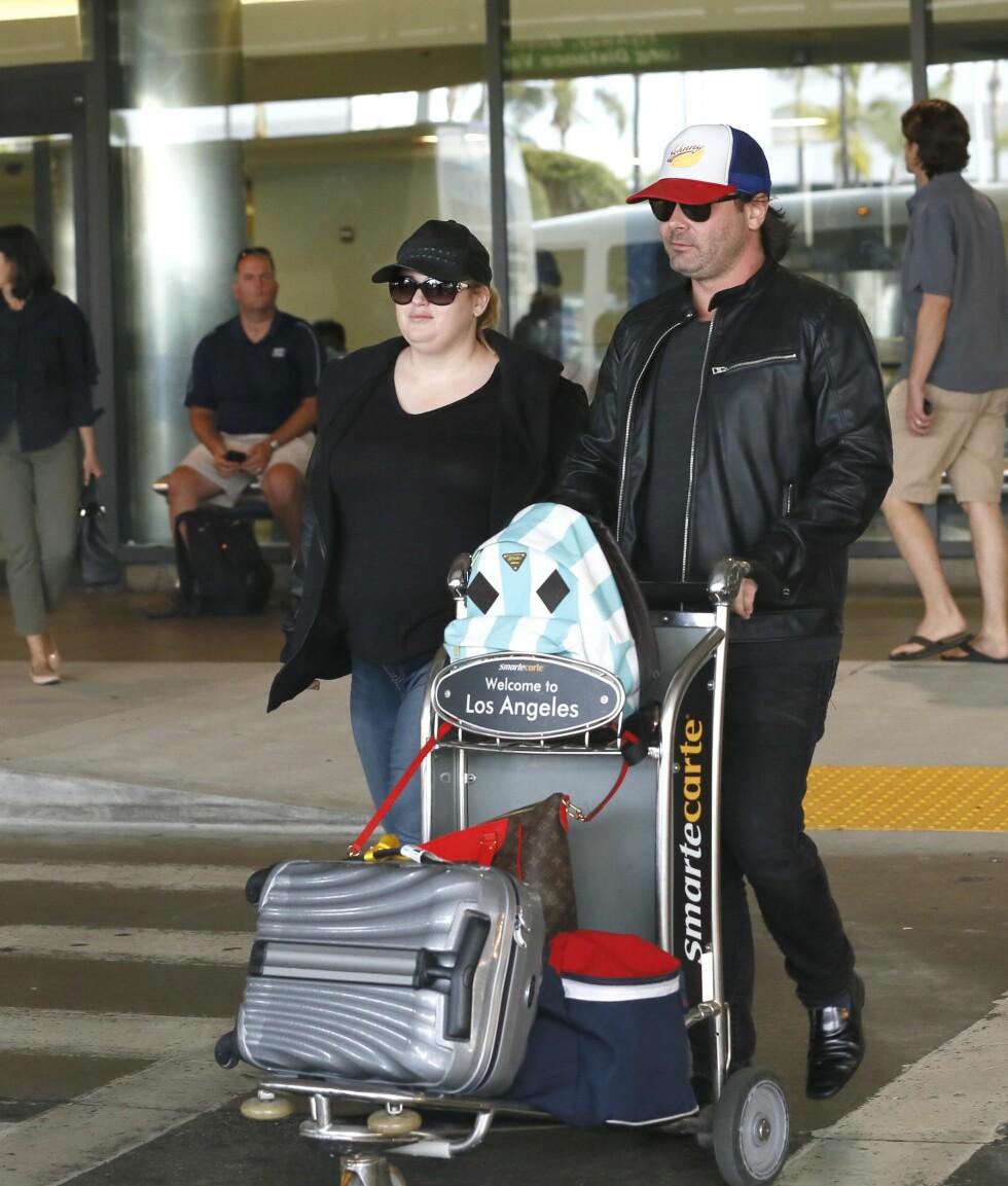 <strong>PÅ TUR:</strong> Rebel Wilson og Mickey Gooch reiste nylig på tur til Ibiza.  Foto: Splash News