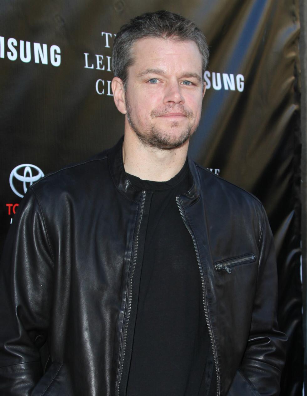 SUKSESS: Damon har spilt i tre av de fire Bourne-filmene, med stor suksess. Foto: wenn.com