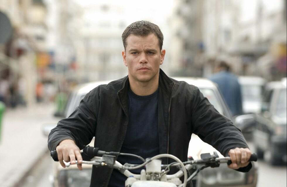 ACTIONHELT: Her er Damon fra 2007-filmen The Bourne Ultimatum. Foto: ZUMA Press