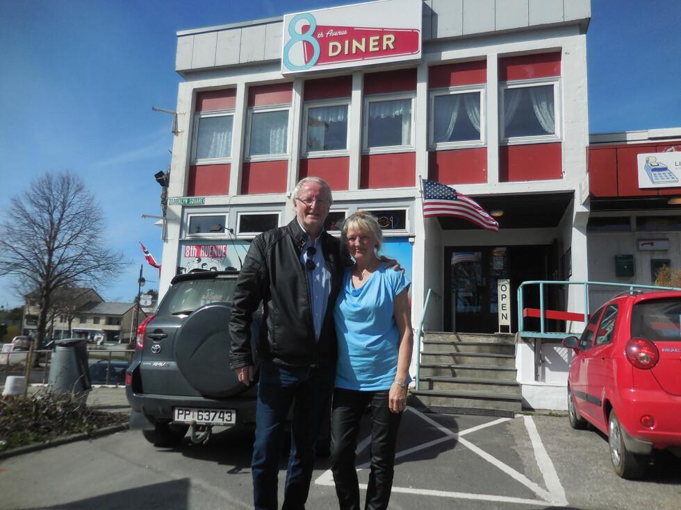 <strong>STOR UTFORDRING:</strong> Eyvind Hellstrøm fikk en stor utfordring da han besøkte restauranten «8th Avenue» på Lista. Foto: TV3