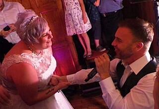 Sjokkert Take That-fan fikk tidenes bryllupsgave